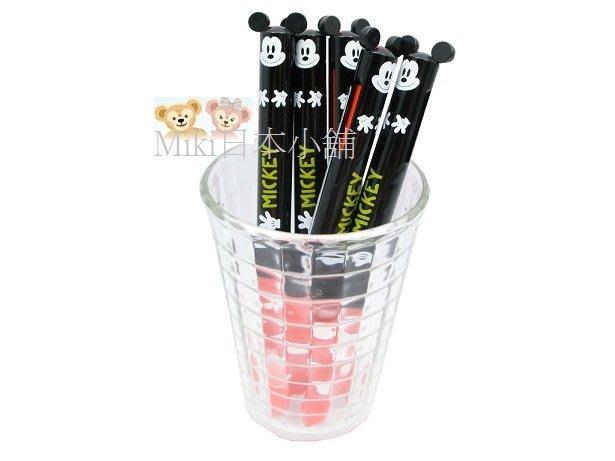 *Miki日本小舖*日本迪士尼 米奇 Mickey 雙色原子筆 黑/紅兩色