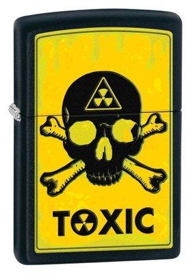 【angel 精品館 】美國zippo打火機  Toxic Black Matte - Zippo 28310