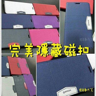 Gamax【完美隱藏磁扣】SONY Xperia Z2A D6563 ZL2  時尚側掀站立 內軟殼