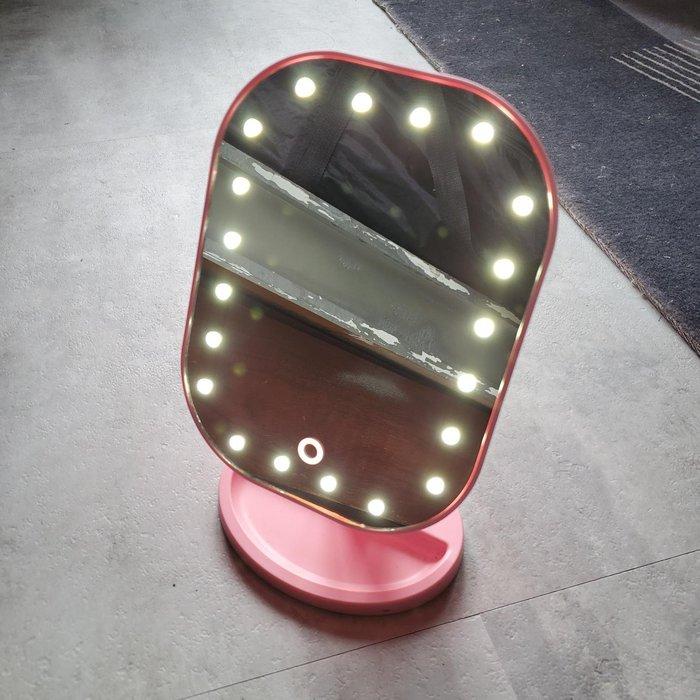 LED燈光觸控化妝鏡 (電池款)