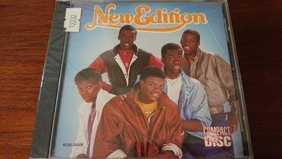 New Edition 1984年首張同名專輯西洋流行樂團全新收藏版收錄cool it now mr.telephone man 超級罕見盤