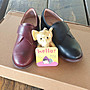 ♀️女:復古文青風便利貼木跟踝靴、復古牛...