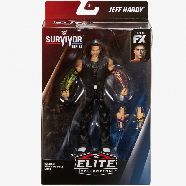 ☆阿Su倉庫☆WWE Jeff Hardy Survivor Series Elite Figure 強者生存精華版人偶