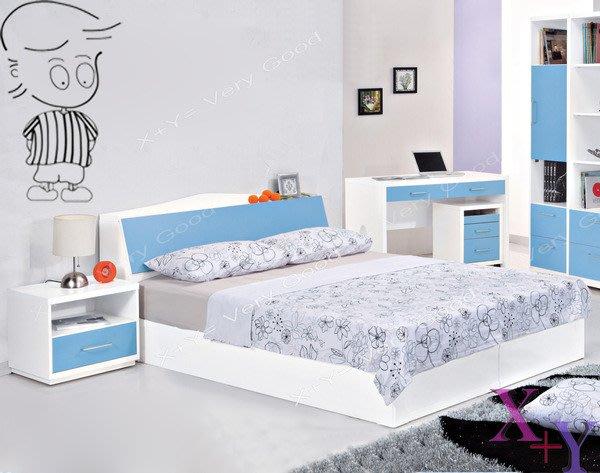 【X+Y時尚精品傢俱】現代雙人床組床架系列-哈利 5尺雙人床頭箱.不含床架及床墊.可收納