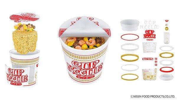 日本代購  BANDAI日清杯麵BEST HIT CHRONICLE    1:1 塑膠 模型 玩具  預購