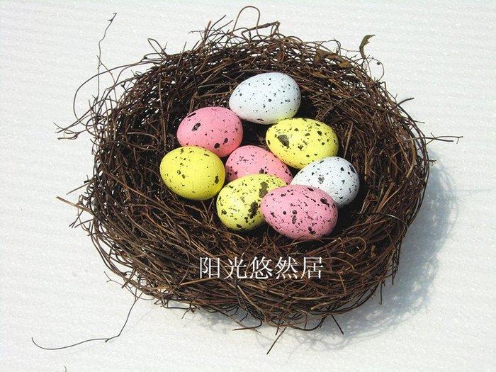 仿真鳥蛋 鵪鶉蛋 模型拍攝道具6個顏色混發