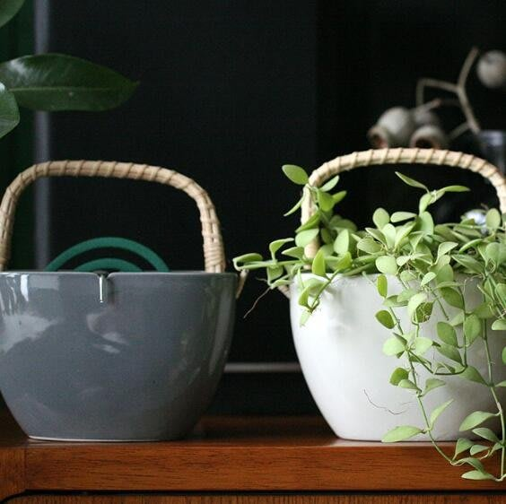 復古陶瓷蚊香罐室內家用驅蟲插花器禪意香薰爐