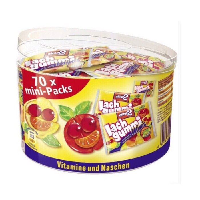 德國Nimm2維他命水果軟糖70小包 分享包