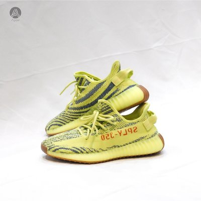 Yeezy Boost 350 V2 Semi Frozen Yellow 黃斑馬 螢光 B37572