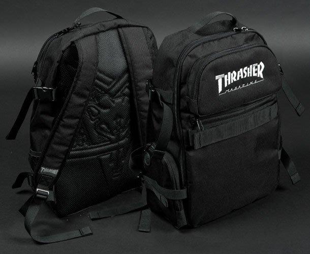 { POISON } THRASHER SPECIAL OPS BACKPACK 經典滑板雜誌品牌 經典款後背包