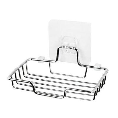 【贈品禮品】A4790 不鏽鋼肥皂架-單層/無痕肥皂架香皂架/免打孔掛式瀝水盤/浴室收納架/贈品禮品