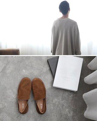 【JP.美日韓】 歐美 高端 全 真皮 牛皮 懶人鞋 套腳鞋 質感 懶人鞋 豆豆鞋 戰車鞋 超高品質