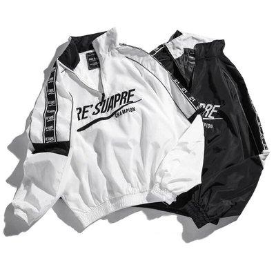 【Result】RESUAPRE 衝鋒衣 風衣 hiphop 手臂串標設計