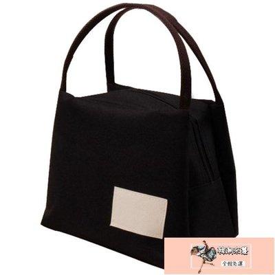 帆布手提包便當包保溫飯盒袋牛津布媽咪飯盒包手提袋【韓潮來襲】