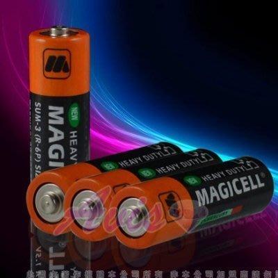 3號電池系列全新無敵MAGICELL三號電池SUM-3(R-6P)SIZE AA1.5V四入
