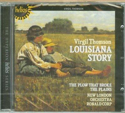 """Louisiana Story/ Plow that Broke""- Virgil Thomson,全新,L11"