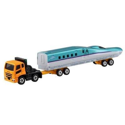 【HAHA小站】麗嬰 盒裝 正版 加長 日本 TOMICA 三菱新幹線運輸車 多美小汽車 TM 122A2 880431