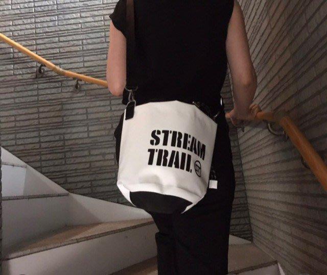 日本StreamTrail戶外防水包~ANEMONE隨身包逛街上班出國旅遊最方便的隨身小包~浪花白-限量到貨