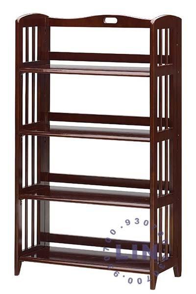 【品特優家具倉儲】◎075-03書架4層折合書架