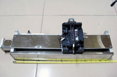 滑軌 滾珠螺桿 滑台 線性滑軌 長度50公分 (  定位控制器 伺服馬達 自動化控制 )