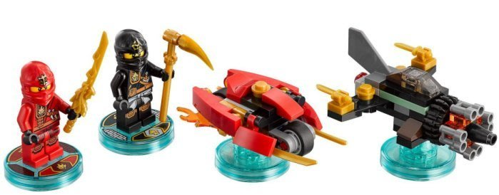 【LEGO 樂高 】全新正品 益智玩具 積木/ Dimensions 忍者三合一次元系列 Cole Kai 71207
