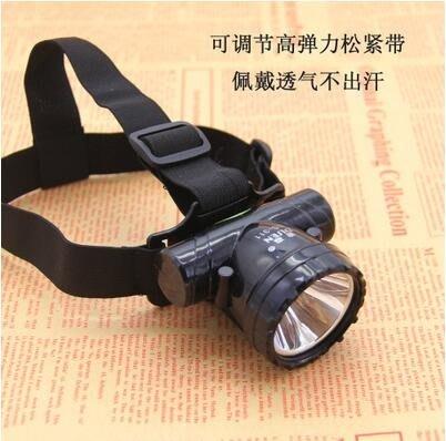 強光充電鋰電大功率頭燈超亮LED頭戴式手電釣魚遠射超亮礦燈