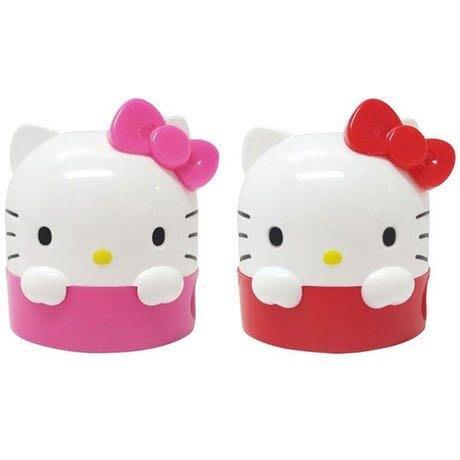 Hello Kitty 大臉造型雙孔削筆器