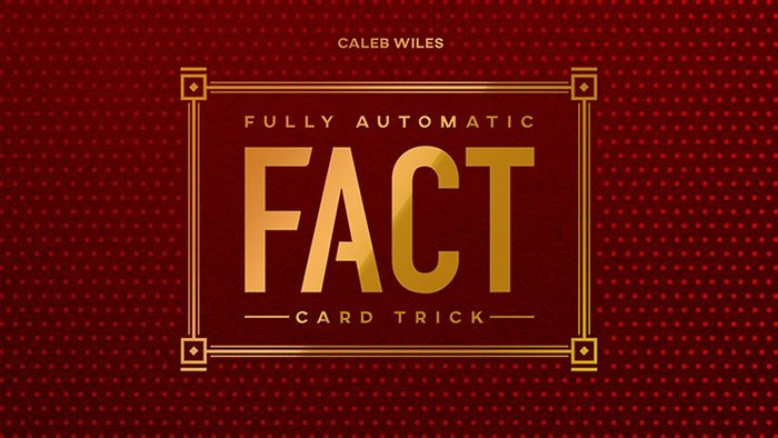 [魔術魂道具Shop]Fully Automatic Card Trick by Caleb Wiles
