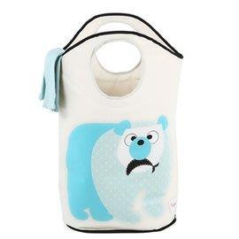 加拿大 3 Sprouts 藍天白熊洗衣籃 新上市