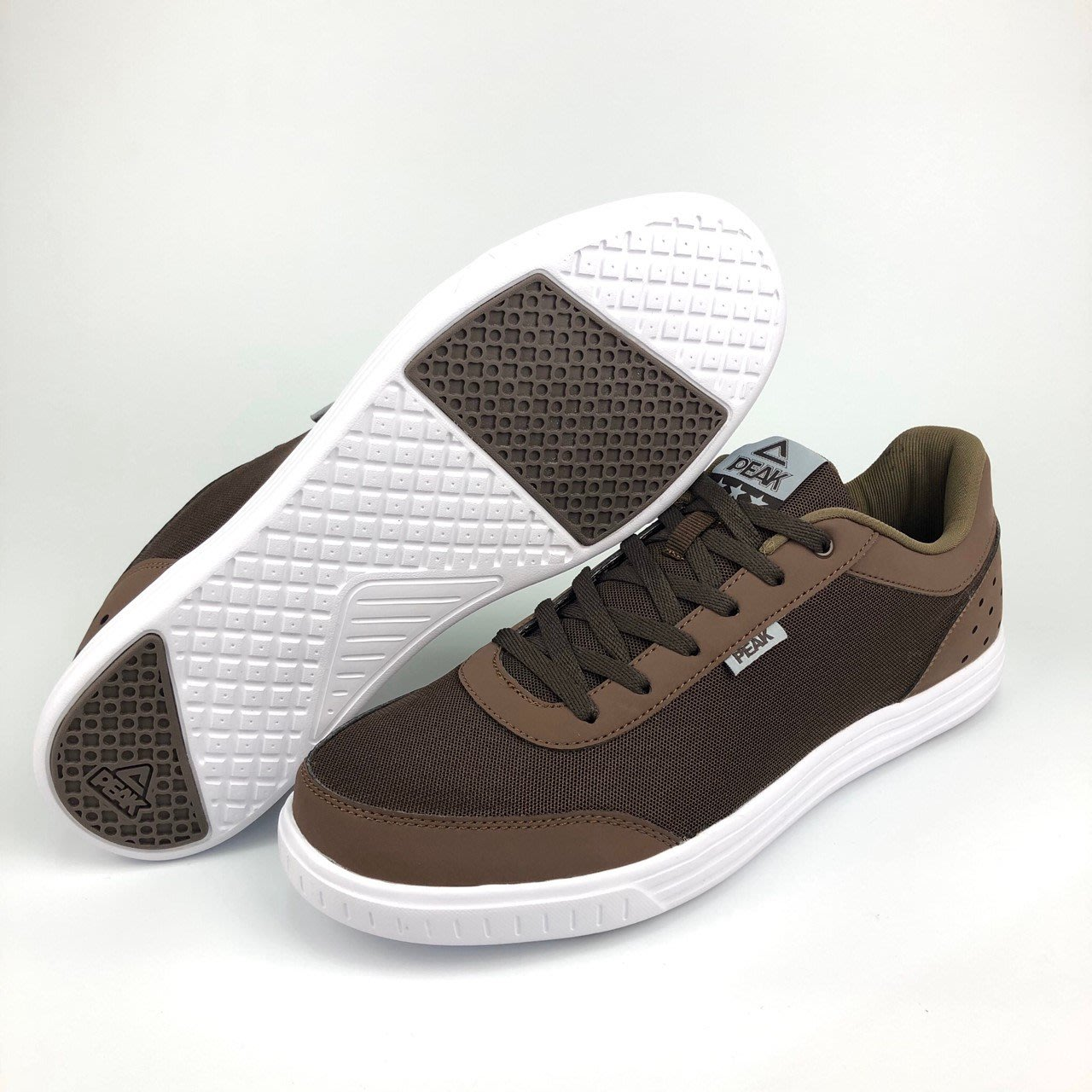 PEAK 休閒鞋 文化系列 男 E62147B 咖啡 I15 亮禹體育PEAK台灣經銷商