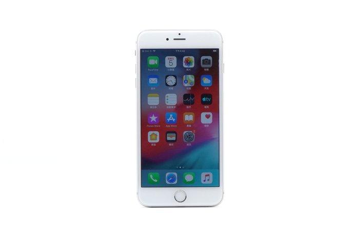 【台中青蘋果】Apple iPhone 6 Plus 銀 128G 瑕疵機出售 後製鏡頭異常 #47966