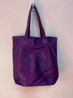 「 二手包 」 COACH 手提袋 ( 紫色 ) 6