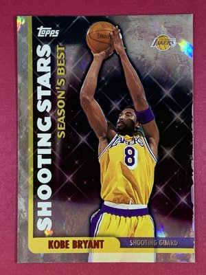 1999-00 Topps Season`s Best Shooting Stars #SB19 Kobe Bryant