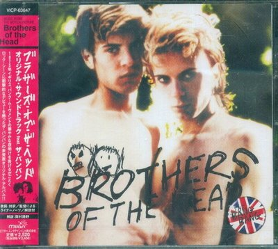 (甲上唱片) Brothers of the Head Original Soundtrack 搖滾雙子星 - 日盤