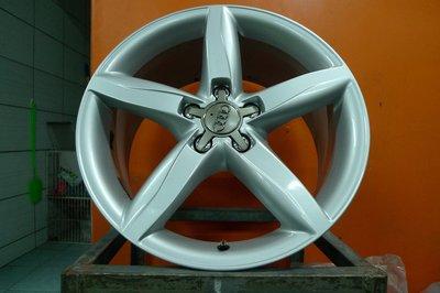 桃園 小李輪胎 18吋5孔112 AUDI 8J ET47 原廠中古鋁圈 VW Skoda BENZ ET40以上車適用