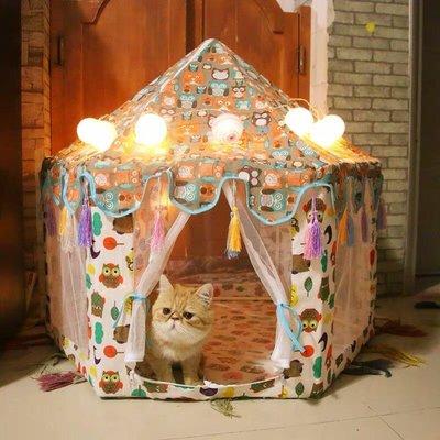 出口日本韓國夏季寵物帳篷大型貓咪產房日系狗窩可愛中小型犬房子#1967
