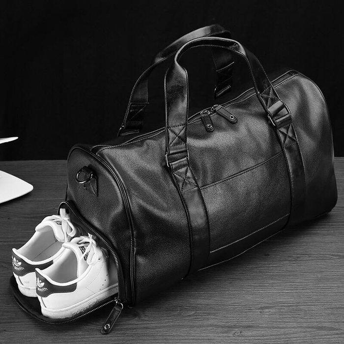 現貨♂️大容量運動包健身旅行包手提旅行包行李袋單肩包韓版斜挎包鞋包潮