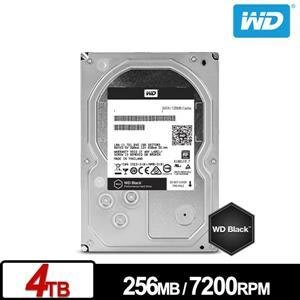 【鴻霖-硬碟】WD4005FZBX 黑標 4TB 3.5吋SATA硬碟