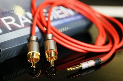 【林口豪韻專業音響】美國 NUFORCE TRANSIENT 3.5mm TO RCA 類比訊號線 1.5M售價