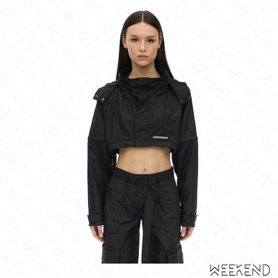 【WEEKEND】 REPRESENT Milton 短版 可拆袖 科技布料 外套 夾克 黑色