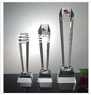 三季刻字水晶獎杯/獎牌/建黨獎杯/優秀員工獎/現貨建軍獎杯/在線設計LOGO公司活動獎杯冠軍獎杯❖857