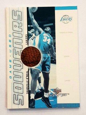 《金塊》NBA 湖人 O'NEAL 球皮卡 球卡 復古 收藏 經典 MVP