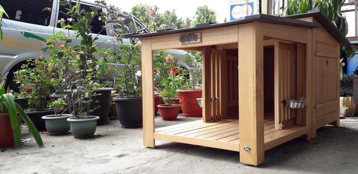 小熊的最愛,豪宅狗屋設計製作