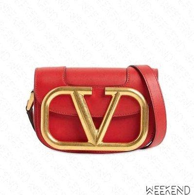 【WEEKEND】 VALENTINO Supervee Small 小款 肩背包 紅色 20春夏 韓素希 徐若瑄