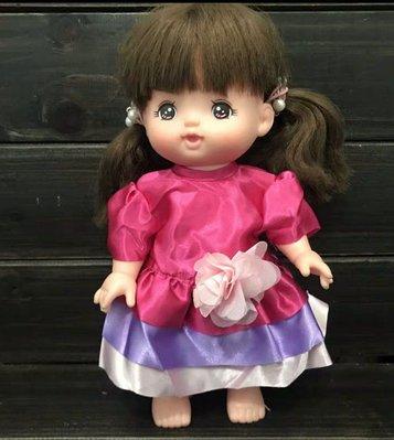 《云媽娃衣舖》小美樂娃娃適用衣服 緞面花花洋裝