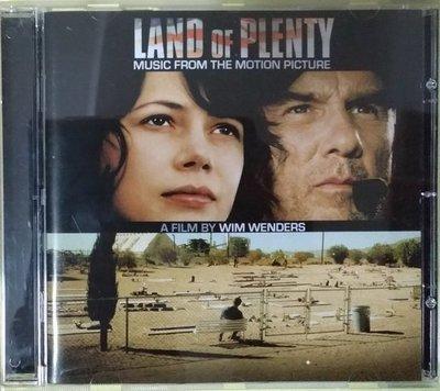 《絕版專賣》豐饒之地 / Land of Plenty 電影原聲帶 Win Wenders