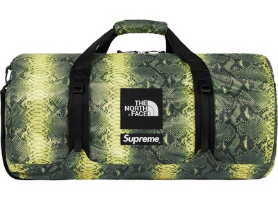 「Rush Kingdom」代購 Supreme TNF Snakeskin Flyweight Duffle Bag
