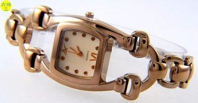 (六四三精品)日韓時尚錶款.巧克力金色...