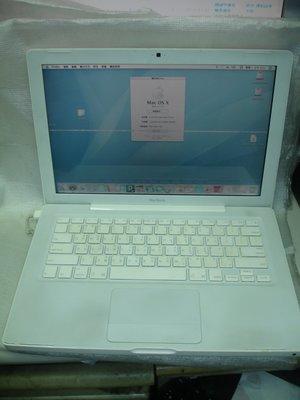 【電腦零件補給站】零件機 研究用 收藏用 蘋果 Apple MacBook A1181 小白機 筆電(2007年)