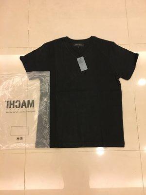 全新正品 MACHI ROYAL CROSS SPINE TEE 黑色 短袖T-SHIRT SZ:S 定價1280